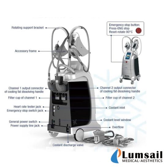 Cryolipolysis Fat Freeze Slimmer BS-CLS9