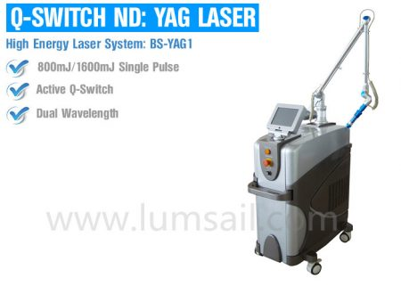 Q-switch nd:Yag Laser