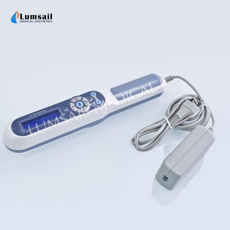 LUMSAIL 311nm UV Phototherapy Lamp For Psoriasis Vitiligo Eczema With Timer And Lcd Screen