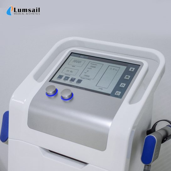 Dual Channel Smart-Wave BS-SWT6000 Excorporeal Shock Wave Therapy System